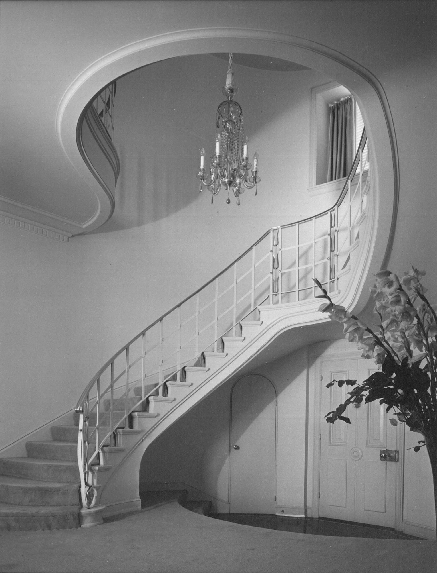 Wilkerson House Stairway_Grayscale