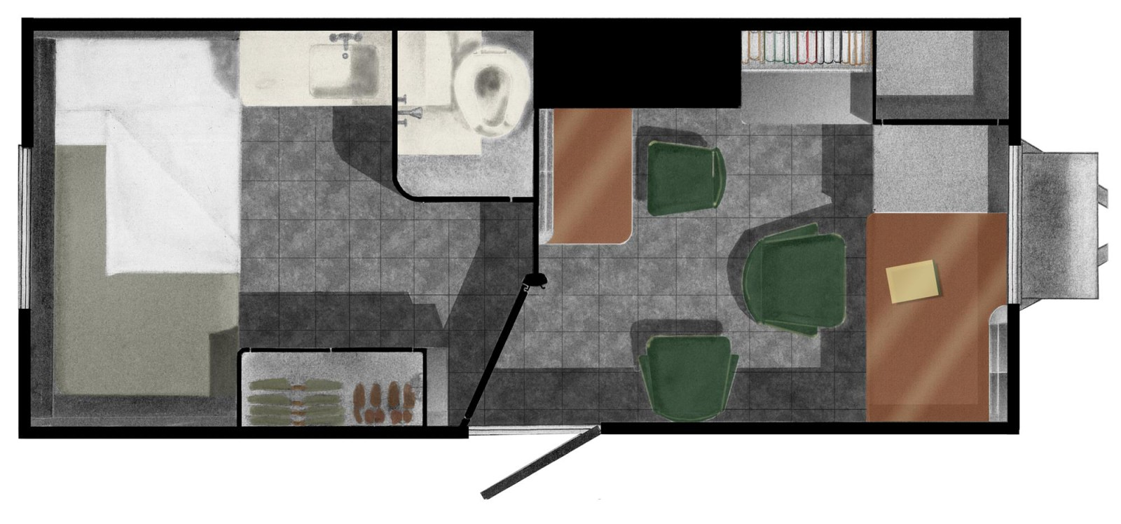 Sleeping Trailer Plan_color